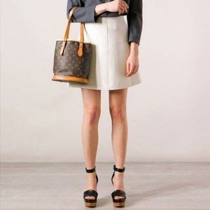 Louis Vuitton Bucket PM Monogram Tote Purse Bag
